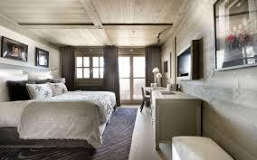 style chambre a coucher design interieur chambre coucher style chalet moderne revêtement