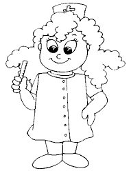 Epic Nurse Coloring Pages 98 About Remodel Free Kids With
