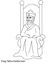 Nebuchadnezzar2 Bible Coloring Pages