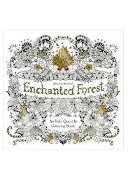 Johanna Basford Enchanted Forest Coloring Book