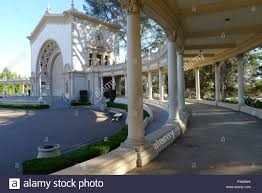 Balboa Park Halloween Night by Spreckels Organ Pavilion Of Balboa Park San Diego Stock Photo