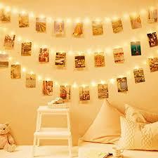 40 led bilder licht dekoration schlafzimmer deko modern wohnzimmer fotolichterkette lichterkette batterie