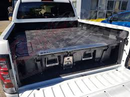 100 Truck Bed Storage Drawers TOYOTA HILUX DUAL CAB 2015on DECKED TRUCK BED STORAGE SYSTEM DRAWS