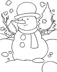 Picture Coloring January Pages For Preschool New At Winter