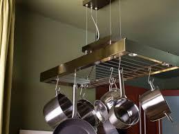 Hanging Pot Rack Ikea White Wood Kitchen Island Stainless Steel