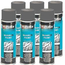 plastic structure paint bumper paint grey 6 x 500ml structural spray troton plastic