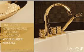 vergoldete badarmatur für luxus bäder und baddesign thg