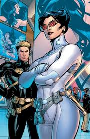 Diana Prince Pictured With Thomas Tresser On The Cover Of Wonder Woman Vol 3 6 May 2007 Art By Terry Dodson
