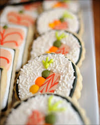Sushi Party Cookies   Gray Barn Baking Pottery Barn Chandelier Shades Ideas On Chandeliers Vegetable Display Inspiration Ideas To Accompany San Sai Sushi Fr Sushi Flickaholdingplatta Le Arkivfoto Bild 919246 Conveyor Belt How Make A Notoriously Pricey Food Noeser Tom Hipster Hirts Med Print Oceanblue Barn Pulls Offensive Chef Costumes Eater 61 Best Flyer Restaurant Menu Print Templates Kids Costume 06 Mercari Buy Sell Things Bento 77 Shaun The Sheep Onigiri Seaweed And Rice Party Cookies Gray Baking Lighting Diy Cool With Drum Lamp Fujisushi Org Light Purple Beju Long Islands Best