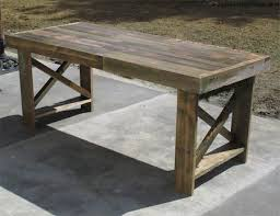 home dzine home diy garden table from reclaimed timber pallets