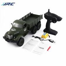 100 Rc Model Trucks JJRC Q60 116 24G 6WD RC Off Road Military Truck Transporter