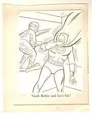 Batman Coloring Book Art P84