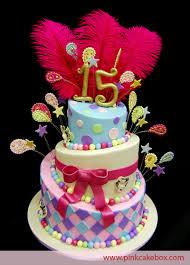 Quinceanera Topsy Turvy Birthday Cakes  Celebration Cakes