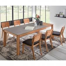 standard furniture holzstuhl norman 3 massivholz gestell und rückenlehne sitzfläche bequem gepolstertet stuhl für esszimmer und küche bezug und
