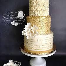 Golden 50th Anniversary Cake Rolkemgold Texture Buttercream Sugarflower Peony 50thanniversary