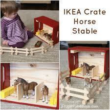 IKEA Hack: Knagglig Wooden Crate Horse Stable For Toy Horses Saddle Up With The Sleich Horse Club Riding Centre The Toy Insider Grand Stable Barn Corral Amazoncom Melissa Doug Fold And Go Wooden Ikea Hack Knagglig Crate For Horses Best Farm Toys Photos 2017 Blue Maize Breyer Stablemates Red Set Kids Ebay Life In Skunk Hollow Calebs Model How To Make Stall Dividers A Box Toy Horse Barns Sale Ideas Classics Country Wash Walmartcom Kid Friendly Youtube Traditional Deluxe Wood Cupola