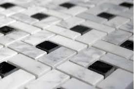 bianco pinwheel honed marble mosaic tile