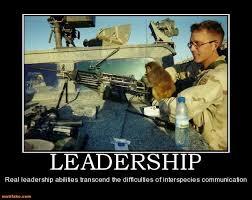 Demotivational Poster LEADERSHIP Real Leadership Abilities