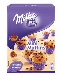 meine backkreation milka mini muffins