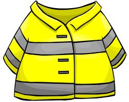 Fireman Jacket Clipart 25