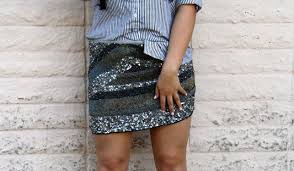Sequins Stripes Cover Nohealani
