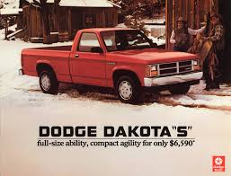 100 1987 Dodge Truck Dakota S Pickup Bigger Than A Compact Small Flickr