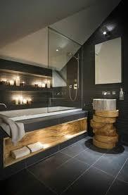 badezimmer deko moderne bader badezimmer in grau mit holz