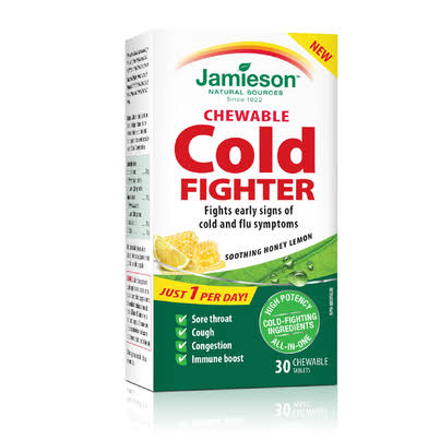 Jamieson Chewable Cold Fighter - 30ct