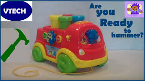 100 Vtech Hammer Fun Learning Truck Toy YouTube