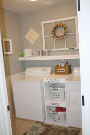 Image Of Small Laundry Room Shelving