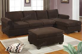 Decorating With Chocolate Brown Couches by Popular Chocolate Brown Sectional Sofa With Decorating Ideas For