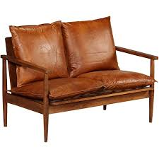 de festnight 2 sitzer sofa 2er echtes leder