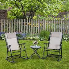 CAD $119.99 Outsunny Outdoor Bistro Set Folding Rocker ... Fniture Cute And Trendy Recling Lawn Chair New Design Garden Line Glider Game Rocking Buy Chairwood Chairglider Product On Alibacom Blue And White Striped Folding Best Chairs Irvington Swivel Recliner In Rock Stock247236 South Dakota Fire Chat 2pack Porch Blazing Needles Spun Poly Outdoor Cushion 20 X 43 Gci Freestyle Rocker Camping Aviva With Micro Suede Hi Back Kauffman Fascating