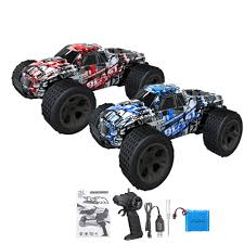 100 Monster Truck Remote Control High Speed 120 30kmH Car RC Electric OffRoad Car For Kids Cars Rc From Zehangame 3033 DHgateCom