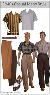 1940s Mens Outfit Costume Ideas FashionVintage