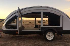 100 Custom Travel Trailers For Sale Futuristic Camper Trailer May Be The Lightest Ever Made Curbed