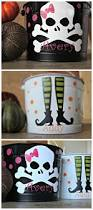 Halloween Candy Dish Craft by Top 25 Best Halloween Buckets Ideas On Pinterest Halloween