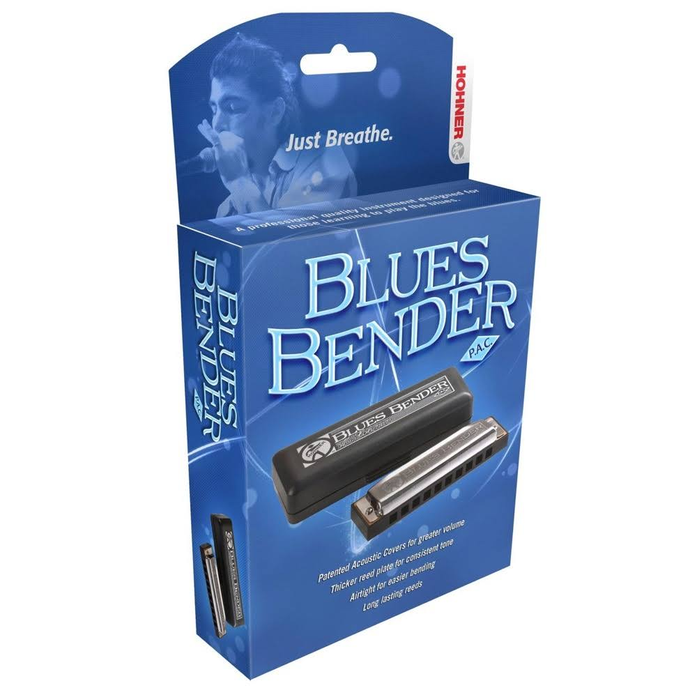 Hohner Blues Bender PAC, Key of D
