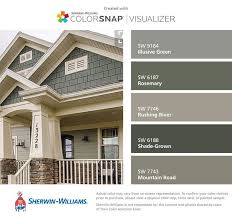 Photo Of Craftsman House Exterior Colors Ideas by Best 25 House Painting Exterior Ideas On Exterior