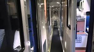 Superliner Bedroom by Tour Of Amtrak Viewliner Sleeping Car With Accessible Bedroom