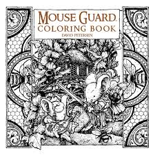 Mouse Guard Coloring Book 9781608869299 Hr
