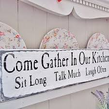 Love To Have This In My New Kitchen Vintage Wooden Sign Words