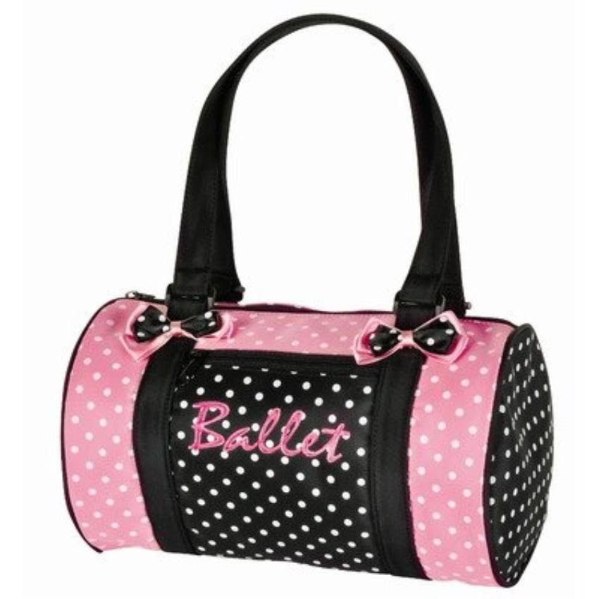 Dansbagz By Danshuz Women's Dancin' Dots Ballet Duffel Bag