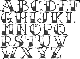 Images For How To Draw Cool Letters A Z