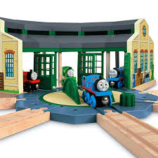 Thomas Tidmouth Sheds Deluxe Set by Thomas U0026 Friends Wooden Railway Tidmouth Sheds Y4367 Fisher Price