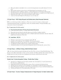 Branch Manager Sample Resume Banking Examples Investment Operations