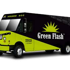 100 Green Food Truck Flash Brewing Co Launches Eater San Diego
