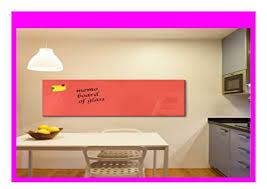 big discount dekoglas glas magnettafel einfarbig orange fmk