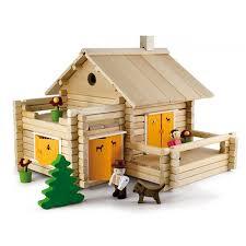 la maison du jouet jeujura jouet maison en rondins 175pcs ekobutiks l ma