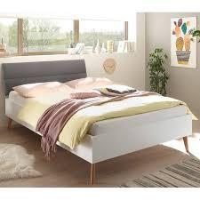 komplettset schlafzimmer jugendzimmer mainz 61 in eiche riviera weiß matt und grau skandinavisches design